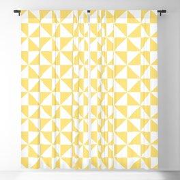 Geometric Pinwheel Pattern 432 Blackout Curtain
