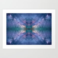 The center of the universe Art Print