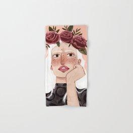 Floral wreath Hand & Bath Towel