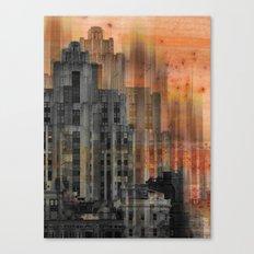 Montreal city by Jean-François Dupuis Canvas Print