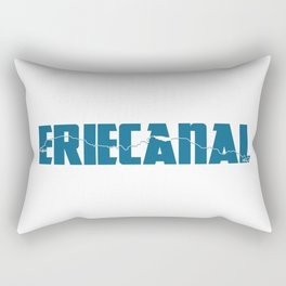 Erie Canal Rectangular Pillow