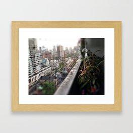 Urban Oasis Framed Art Print