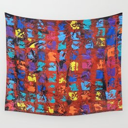 Abstract - The Truth in the Ashes Wall Tapestry