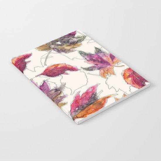 Maple Pattern Notebook
