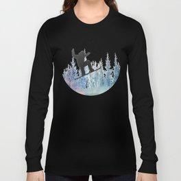The Snowboarder: Air Long Sleeve T-shirt