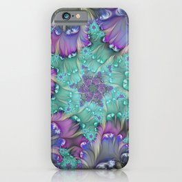 Find Yourself, Abstract Fractal Art iPhone Case