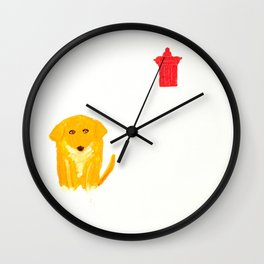 Spats Wall Clock