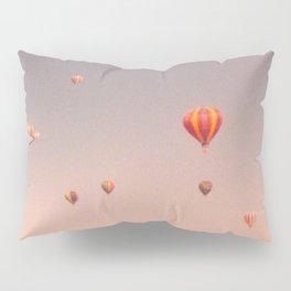 vintage hot air balloons in rio Pillow Sham