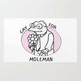 Gay For Moleman Rug
