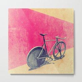 Pursuit / Fixie Metal Print