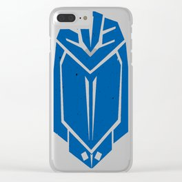 Cobra Commander Decepticon - Mono Clear iPhone Case