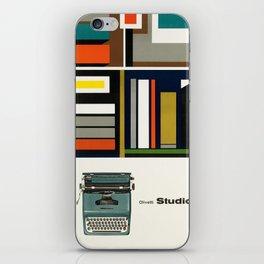 Olivetti Studio 44 - Vintage Poster iPhone Skin
