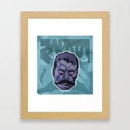Zapatismo Framed Art Print