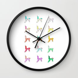 Blade Runner/My little Pony Wall Clock