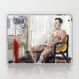 Guy and Fan Laptop & iPad Skin