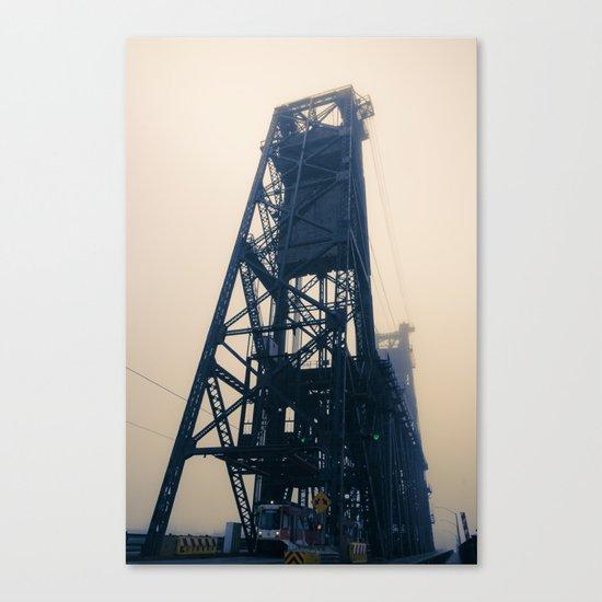 Steel Bridge, Portland, Oregon Canvas Print