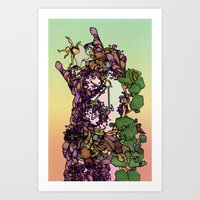 cycle Art Prints featuring Cycle by Anders Teigene
