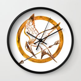 """May The Odds Be Ever In Your Favor"" Wall Clock"