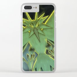 Zapdos Clear iPhone Case