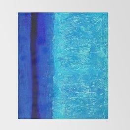 Blue Serenity Throw Blanket