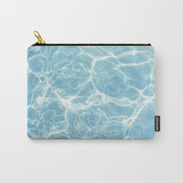 Pool, Pool Water, Swim, Swimming, Ripples, Waves, Summer, Beach, Ocean, Sun, California, Summertime Carry-All Pouch