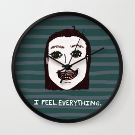 Too Much-ness Wall Clock