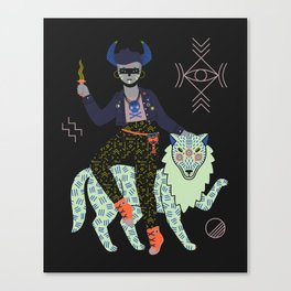 Witch Series: Demon Canvas Print