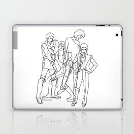 Davie Bowie Line Print Laptop & iPad Skin