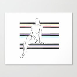 Sophisticated Sally  Canvas Print