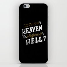 Highway to Heaven? iPhone Skin