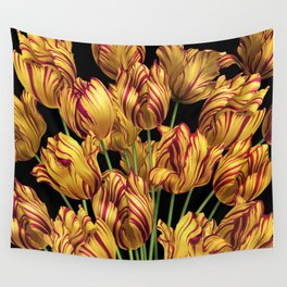 Royal Sovereign Tulips bouquet. Wall Tapestry