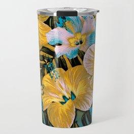 Golden Vintage Aloha Travel Mug