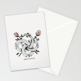 Omnia vnvs est Stationery Cards