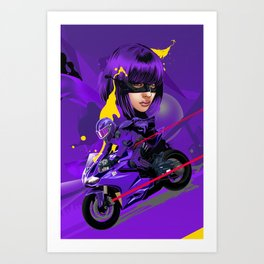 HG Ride Art Print