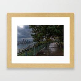 West End Overlook Framed Art Print