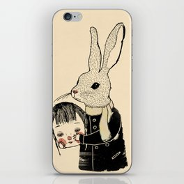 The world is frightening and confusing iPhone Skin