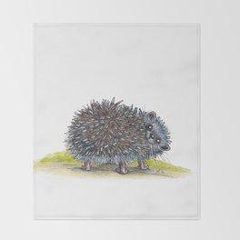 Hedgehog Throw Blanket