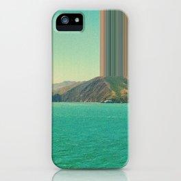 Ship coming into San Francisco Bay iPhone Case