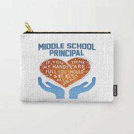 Middle School Principal Carry-All Pouch