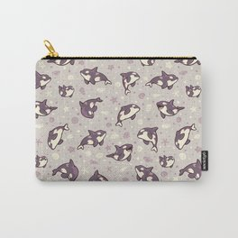 Jelly bean orcas Carry-All Pouch