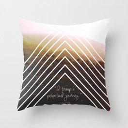 Perpetual Journey Throw Pillow