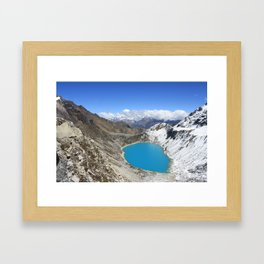 Salkantay Framed Art Print