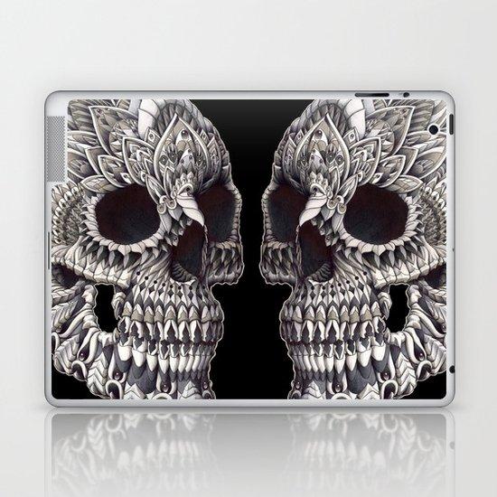 Ornate Skull Laptop & iPad Skin