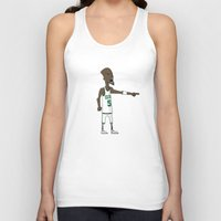 kevin russ Tank Tops featuring Kevin Garnett by frappeboy