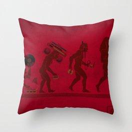Music (R)Evolution 1.0 Throw Pillow