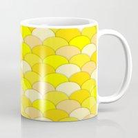 banana Mugs featuring Banana by JPeG