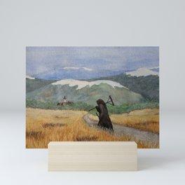Pesta - a painting of the Plague Mini Art Print
