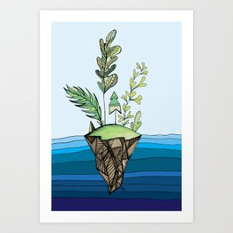 This Misfit Place Art Print