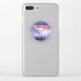 Pastel vibes 07 Clear iPhone Case
