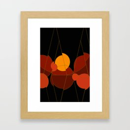 The Yellow One is the Sun Framed Art Print